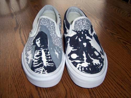 DIY Donnie Darko Sharpie Painted Vans