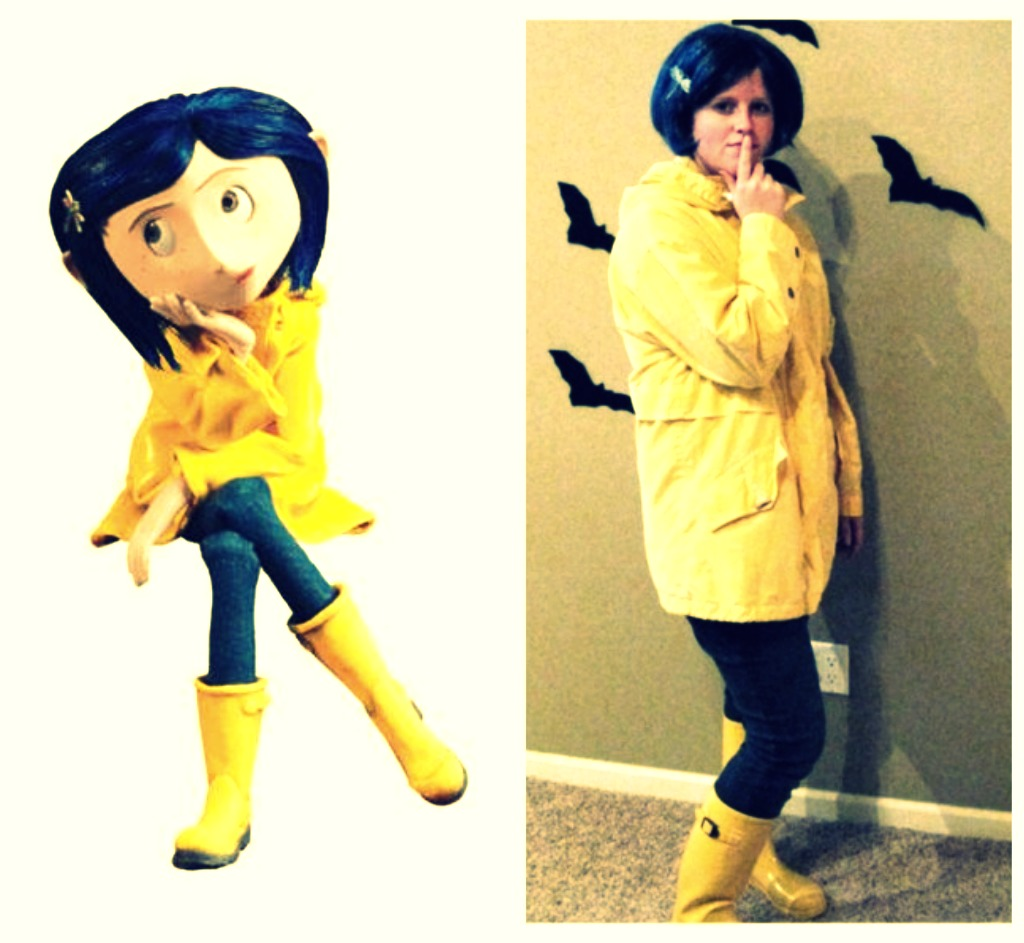 Halloween Party 2010 Diy Coraline Halloween Costume