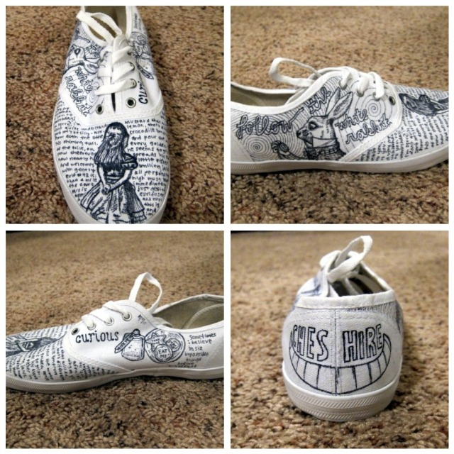 Painted Tennis Shoes Etsy