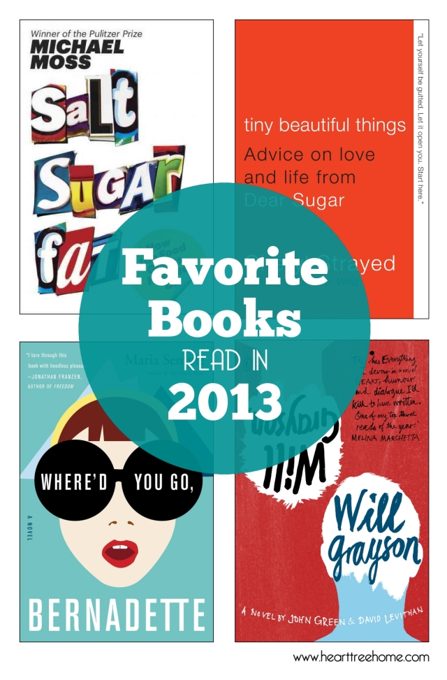 Favorite Books Read in 2013